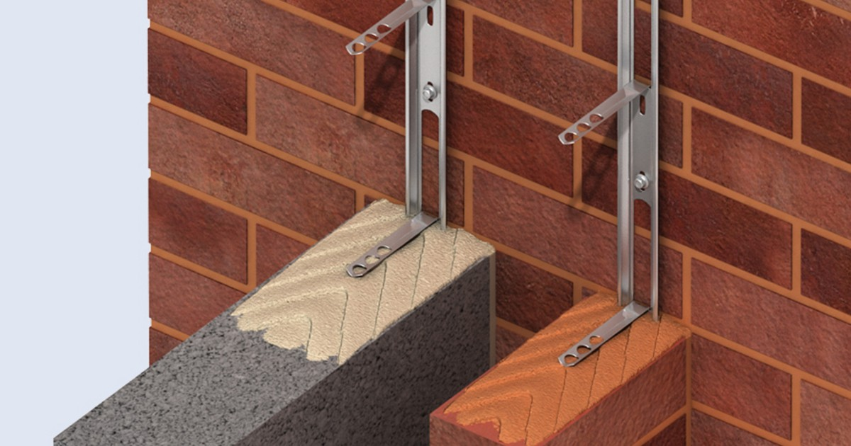 How To Join A New Wall To Existing Brickwork Ancon Ltd
