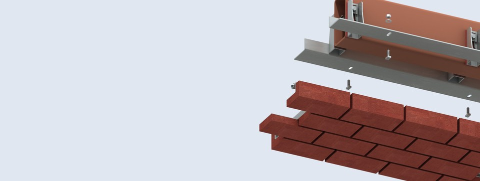 Nexus® Suspended Brickwork Units