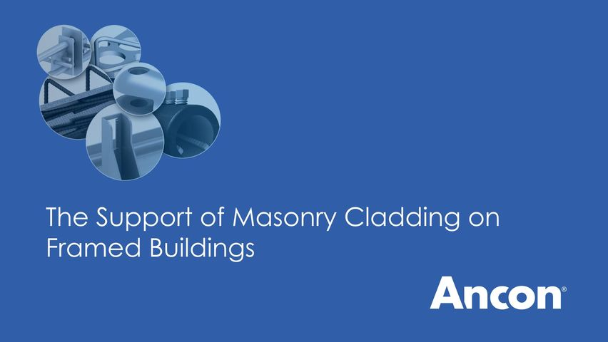 The Support of Masonry Cladding on Framed Buildings
